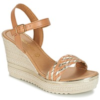Shoes Women Sandals Marco Tozzi XAPER Cognac