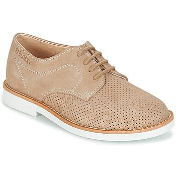 Shoes Boy Derby shoes Pablosky NOUFF Beige