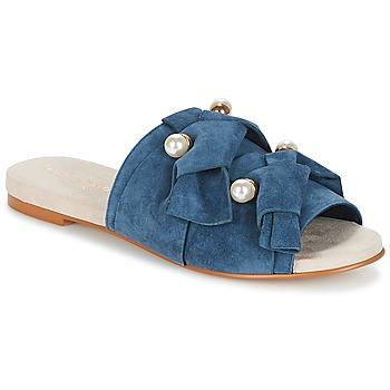Shoes Women Mules KG by Kurt Geiger NAOMI-BLUE Blue