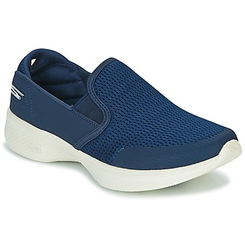 Shoes Women Slip ons Skechers GO WALK 4 Marine
