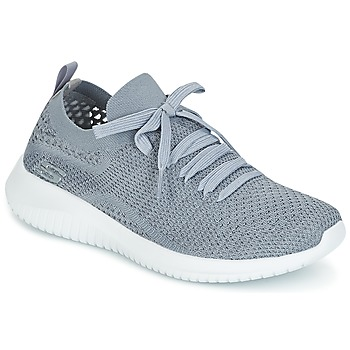 Shoes Women Low top trainers Skechers ULTRA FLEX Grey
