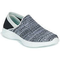 Shoes Women Slip ons Skechers YOU Black / White