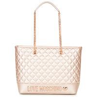 Bags Women Shopper bags Love Moschino JC4003PP15 Pink / Gold