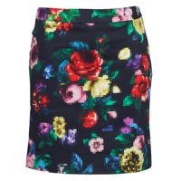 material Women Skirts Love Moschino WGC7100 Black / Multicolour