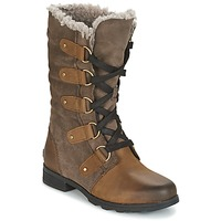 Shoes Women Boots Sorel EMILIE LACE Brown