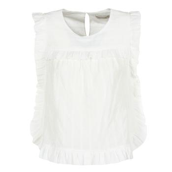 material Women Blouses See U Soon 8111036 White