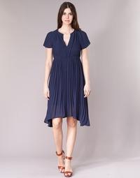 material Women Short Dresses See U Soon 8121119 Marine