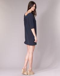 material Women Short Dresses See U Soon 8121053 Marine