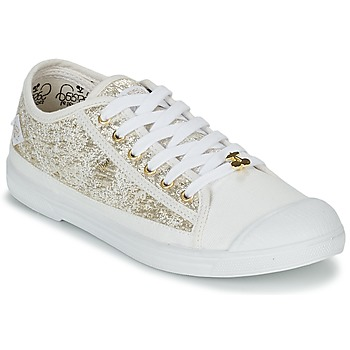 Shoes Women Low top trainers Le Temps des Cerises BASIC 02 Gold