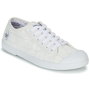 Shoes Women Low top trainers Le Temps des Cerises BASIC 02 White
