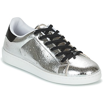 Shoes Women Low top trainers Le Temps des Cerises HOPE Silver