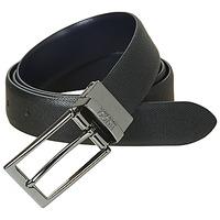 Accessorie Men Belts HUGO-Hugo Boss GILVIO REVERSIBLE Black / Marine