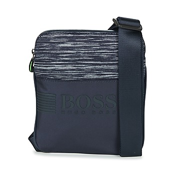 Bags Men Pouches / Clutches Hugo Boss Green PIXEL K S ZIP Marine