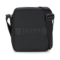 Bags Men Pouches / Clutches Hugo Boss Green PIXEL NS ZIP Black