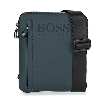 Bags Men Pouches / Clutches Hugo Boss Green HYPER T S ZIP Marine / White