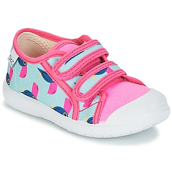 Shoes Girl Low top trainers Citrouille et Compagnie GLASSIA Multicolour