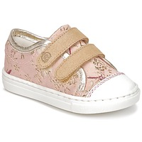 Shoes Girl Low top trainers Citrouille et Compagnie INACUFI Pink / Gold