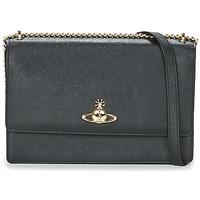 Bags Women Shoulder bags Vivienne Westwood PIMLICO Black / Blue