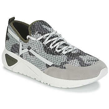 Shoes Men Low top trainers Diesel S-KBY Grey / Kaki