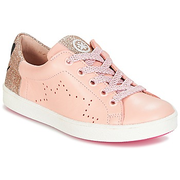 Shoes Girl Low top trainers Acebo's VERAMET Pink
