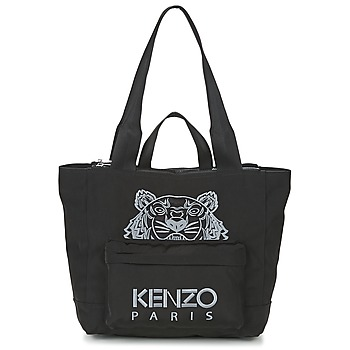 Bags Women Shopper bags Kenzo KANVAS TIGER TOTE LARGE Black