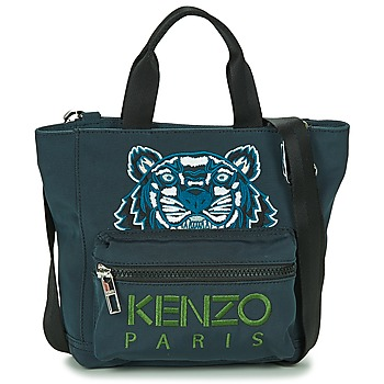 Bags Women Shopper bags Kenzo KANVAS TIGER MINI TOTE Grey