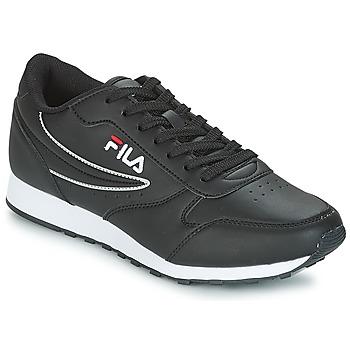 Shoes Men Low top trainers Fila ORBIT LOW Black