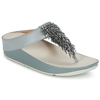 Shoes Women Flip flops FitFlop CHA-CHA TOE-THONG SANDALS CRYSTAL Blue