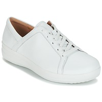 Shoes Women Low top trainers FitFlop F-SPORTY II LACE UP SNEAKERS White