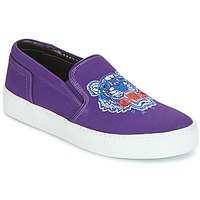 Shoes Women Slip ons Kenzo K SKATE SNEAKERS Violet