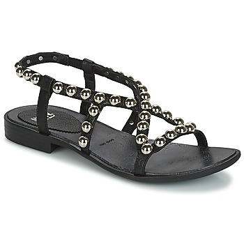 Shoes Women Sandals Now SANTIAGO Black
