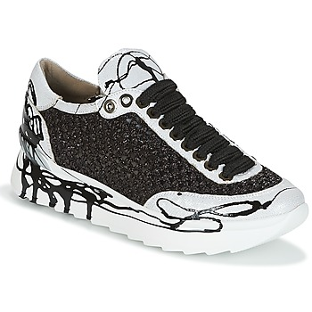 Shoes Women Low top trainers Now CARK Black / White