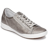 Shoes Women Low top trainers Josef Seibel SINA 11 Silver