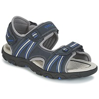 Shoes Boy Sports sandals Geox J S.STRADA A Marine