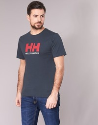 material Men short-sleeved t-shirts Helly Hansen HH LOGO Marine