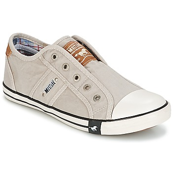 Shoes Women Low top trainers Mustang NAJERILLA Grey / Clear