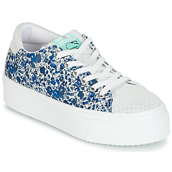 Shoes Women Low top trainers Ippon Vintage TOKYO-FLOW Marine