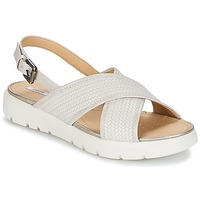 Shoes Women Sandals Geox AMALITHA B White