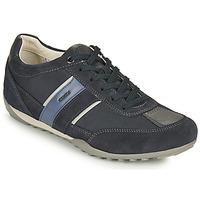 Shoes Men Low top trainers Geox U WELLS C Blue