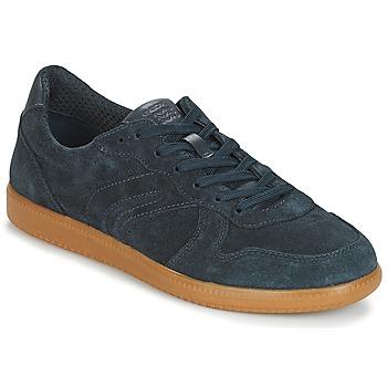 Shoes Men Low top trainers Geox U KEILAN C Blue