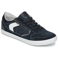 Shoes Men Low top trainers Geox U BOX C Blue