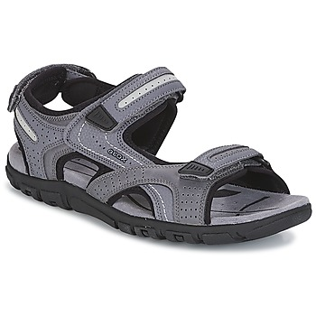 Shoes Men Sports sandals Geox S.STRADA D Grey