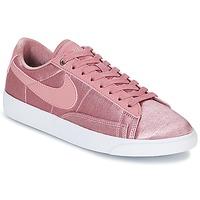 Shoes Women Low top trainers Nike BLAZER LOW SE W Pink