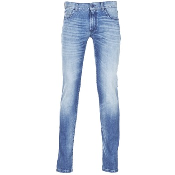 material Men slim jeans Sisley BURLUDU Blue / Medium
