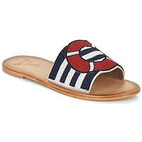 Shoes Women Mules Miss L'Fire ALL ABOARD Marine