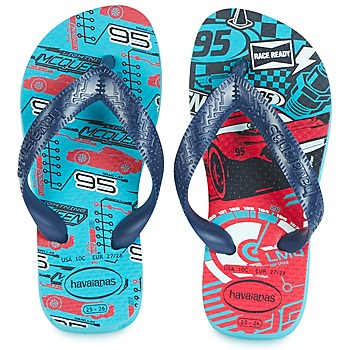 Shoes Boy Flip flops Havaianas KIDS CARS Blue