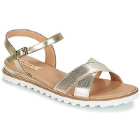 Shoes Women Sandals So Size TENIPO Gold / Silver