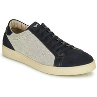 Shoes Men Low top trainers Kost CYCLISTE 55 Beige / Marine