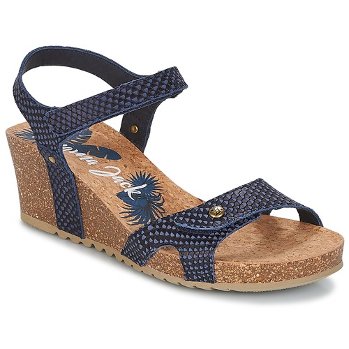 Shoes Women Sandals Panama Jack JULIA Marine