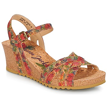 Shoes Women Sandals Panama Jack VERA Red